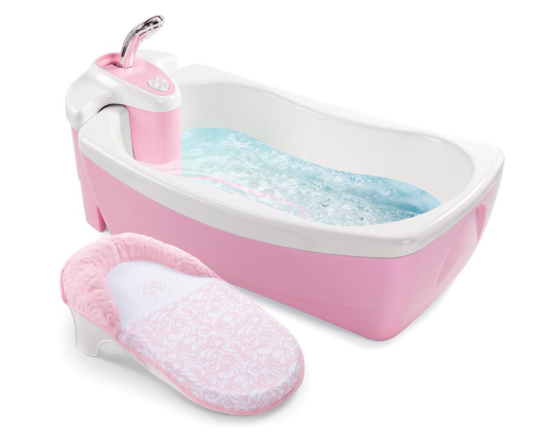 para bebês de 0 a 2 anos de idade ela possui um suporte que se  #953654 1141x900 Banheiro Com Banheira De Luxo