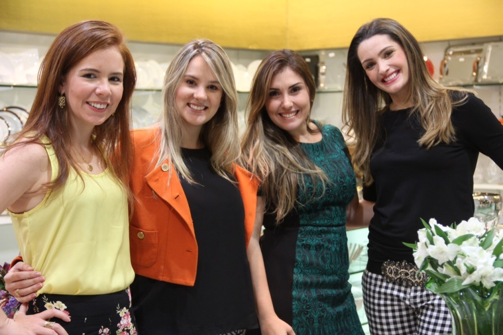 Cecília Coelho, Melina Amorim, Renata Valença e Ana Maria Pimenta