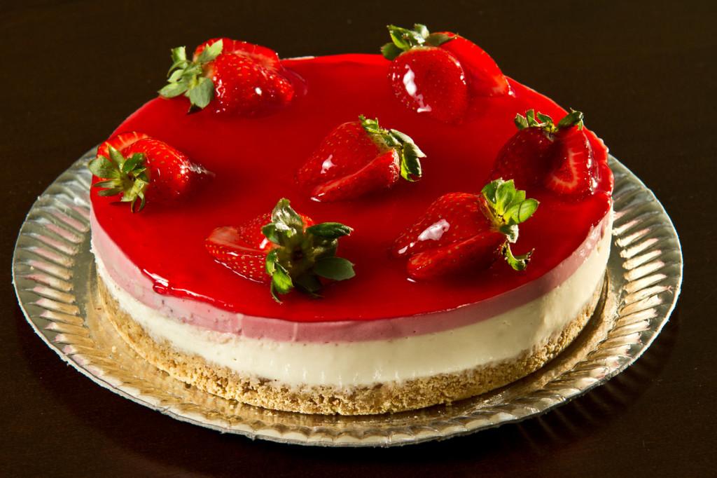 Cheesecake de morando - Zero teor de açúcar